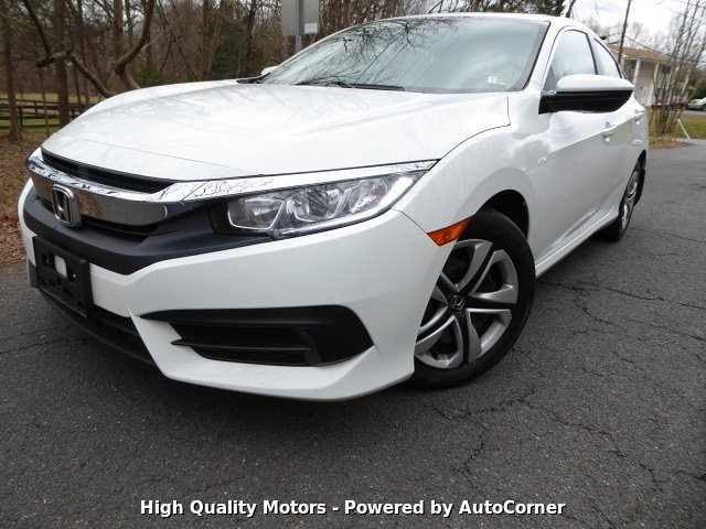 2018 Honda Civic LX Sedan Back-up Camera 1 OWNER CLEAN CARFAX